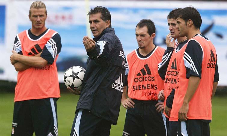 Real Madrid Carlos Queiroz