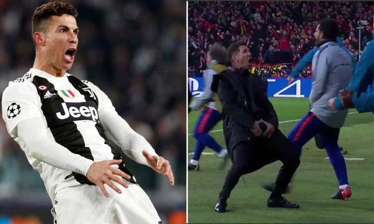 Cristiano Ronaldo Cholo Simeone