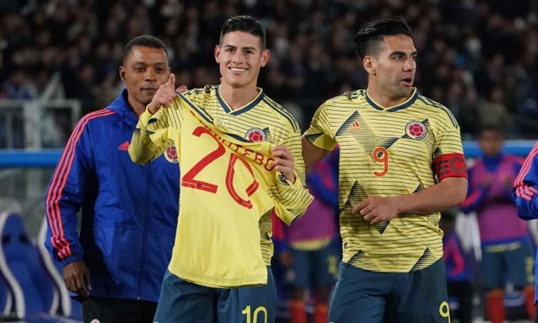 Selección Colombia Falcao James