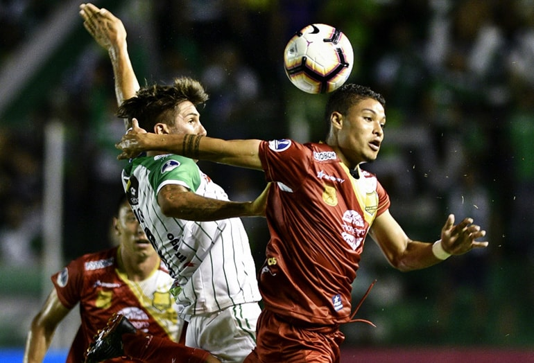 Rionegro Águilas 1–1 Oriente Petrolero Conmebol Sudamericana 2019
