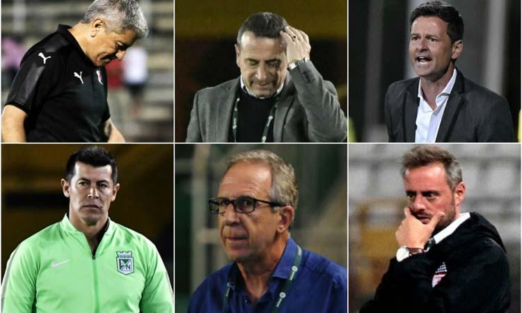 técnicos extranjeros Liga Águila