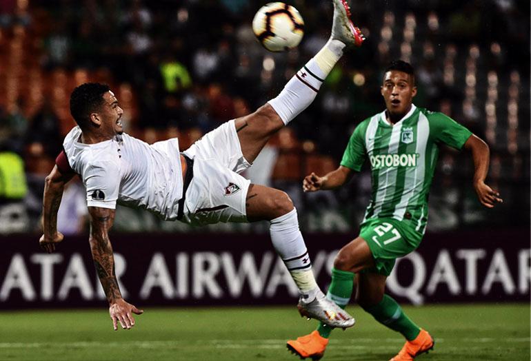 Atlético Nacional 1–0 Fluminense FC Copa Sudamericana 2019