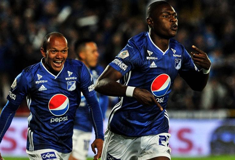 Fabián González Millonarios FC – Unión Magdalena Liga Águila 2019–1