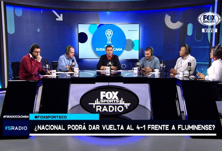 Fox Sports Radio Colombia Iván René Valenciano Víctor Hugo Aristizábal