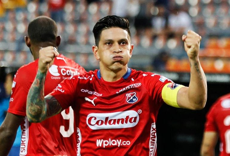 Germán Cano, máximo artillero Liga Águila 2019–1