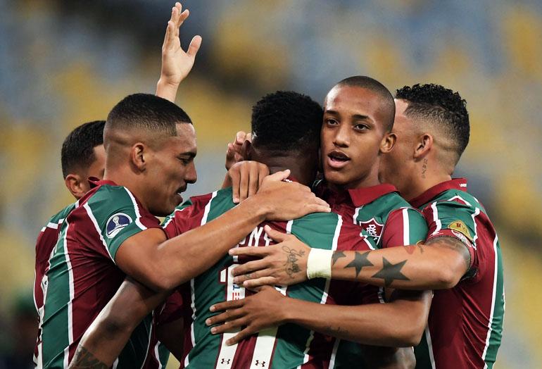 João Pedro Fluminense FC 4 – 1 Atlético Nacional Copa Sudamericana 2019