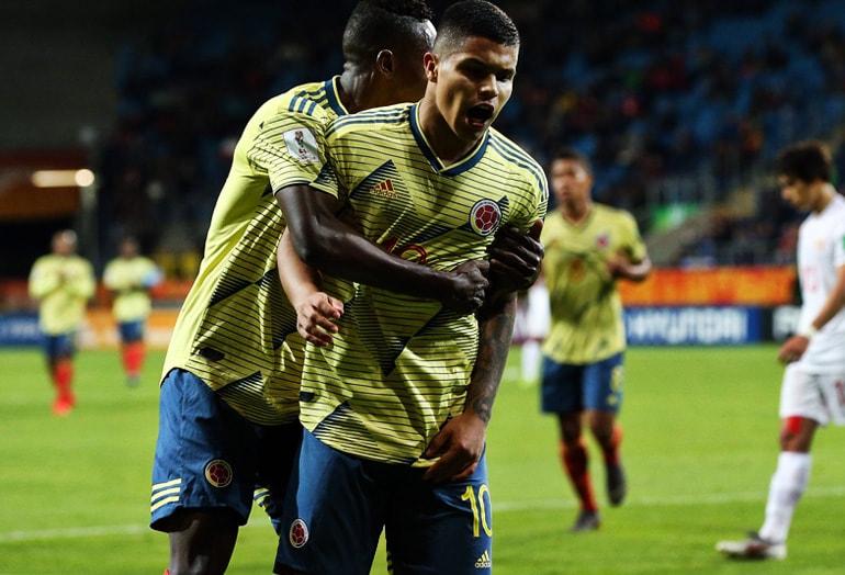 Juan Camilo 'Cucho' Hernández Colombia 6–0 Tahití Mundial de Fútbol Sub–20 Polonia 2019