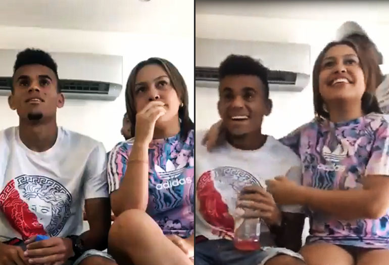 Luis Díaz emoción Selección Colombia