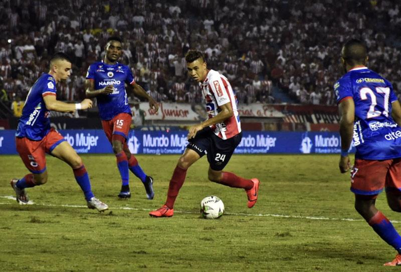 Daniel Giraldo Junior FC – Deportivo Pasto Liga Águila 2019-I