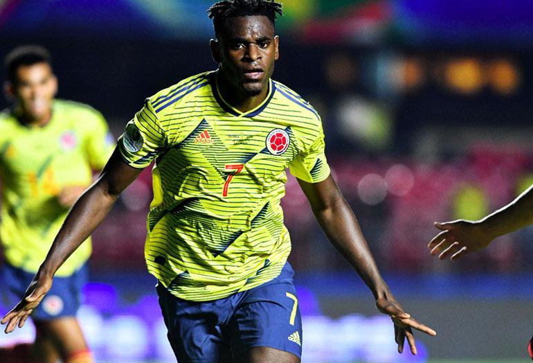 Duván Zapata Colombia 1-0 Qatar Copa América 2019