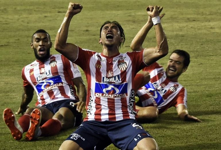 Fabián Sambueza Junior FC 1 – 0 Deportivo Pasto Liga Águila 2019–1