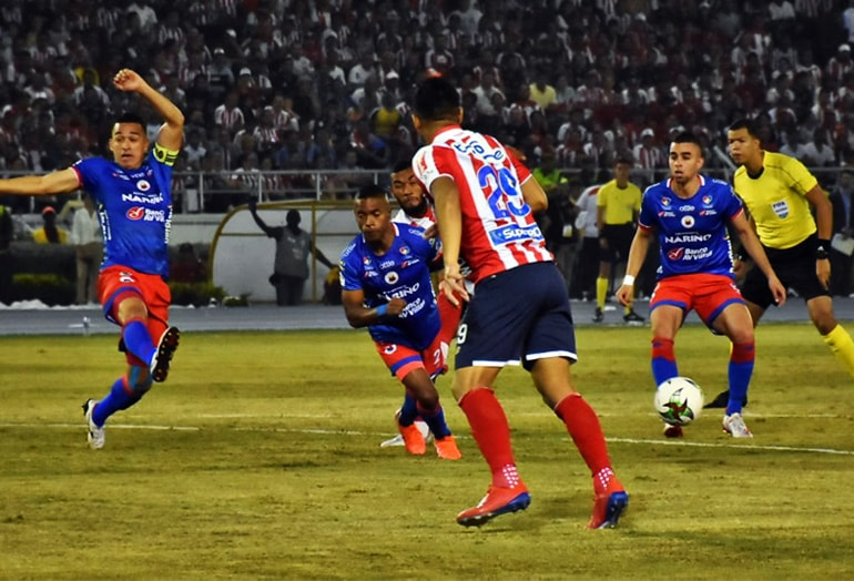 Junior 1 – 0 Pasto Liga Águila 2019–1