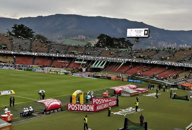 Los Del Sur Atlético Nacional – Junior FC Liga Águila 2019–1