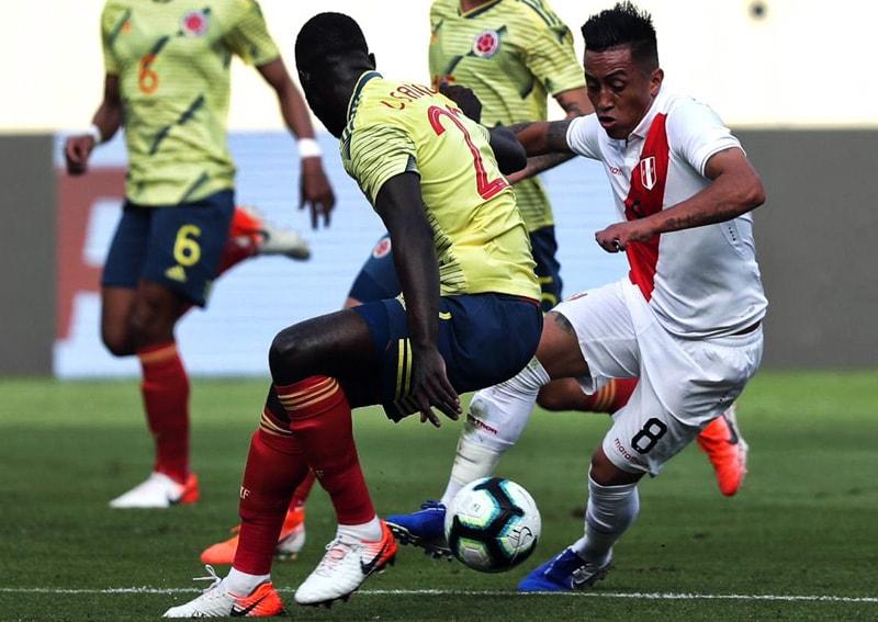Perú 0 – 2 Colombia partido de preparación Copa América 2019 (1)