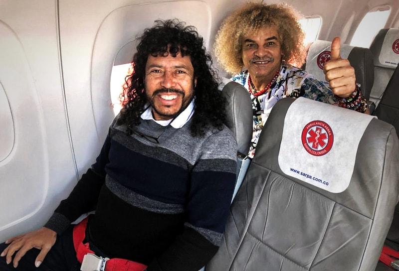 René Higuita y Carlos 'Pibe' Valderrama