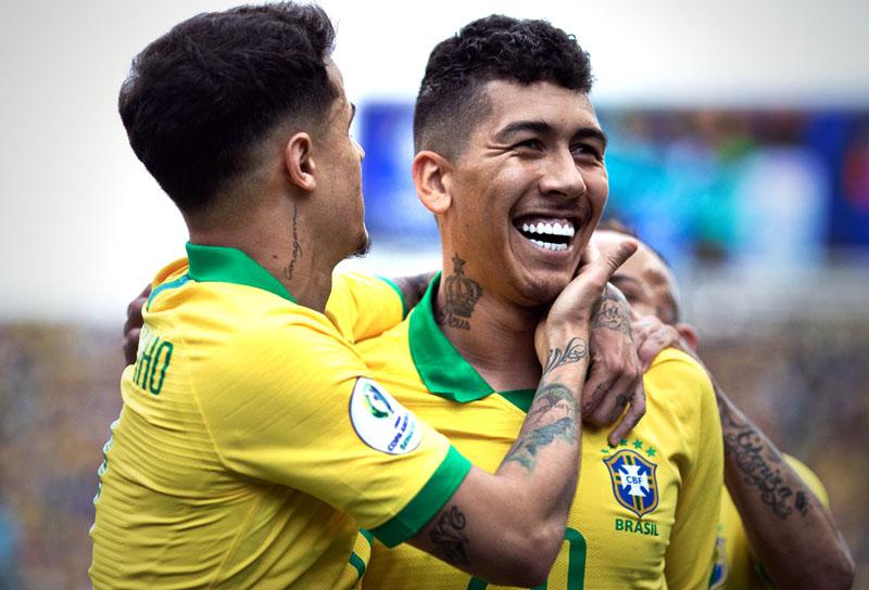 Roberto Firmino Selección de Brasil Copa América 2019