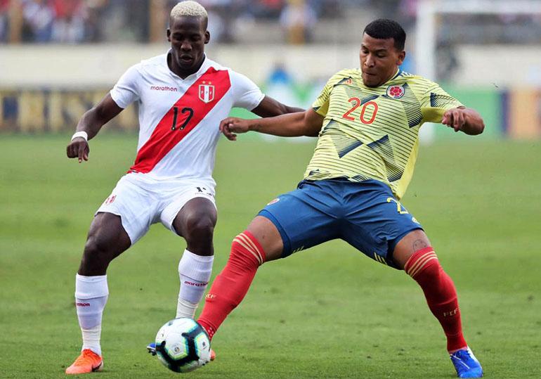 Roger Martínez Selección Colombia – Selección de Perú