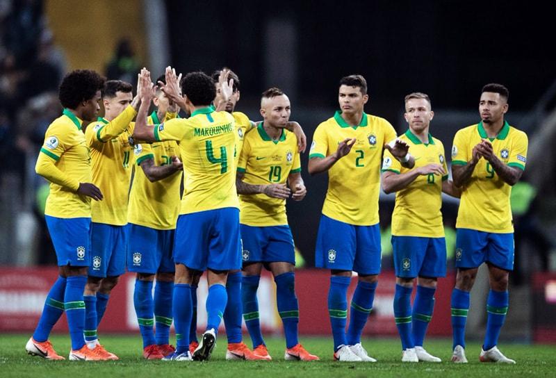 Selección de Brasil semifinalista Copa América 2019