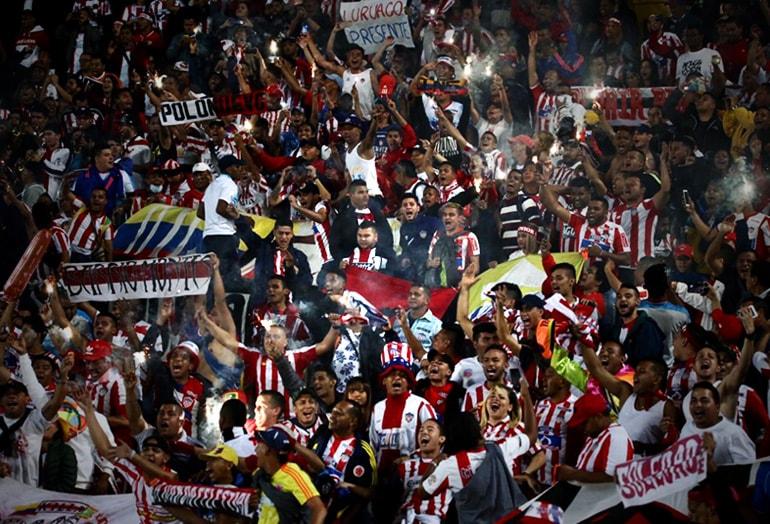 Afición Junior FC final Liga Águila 2019-I