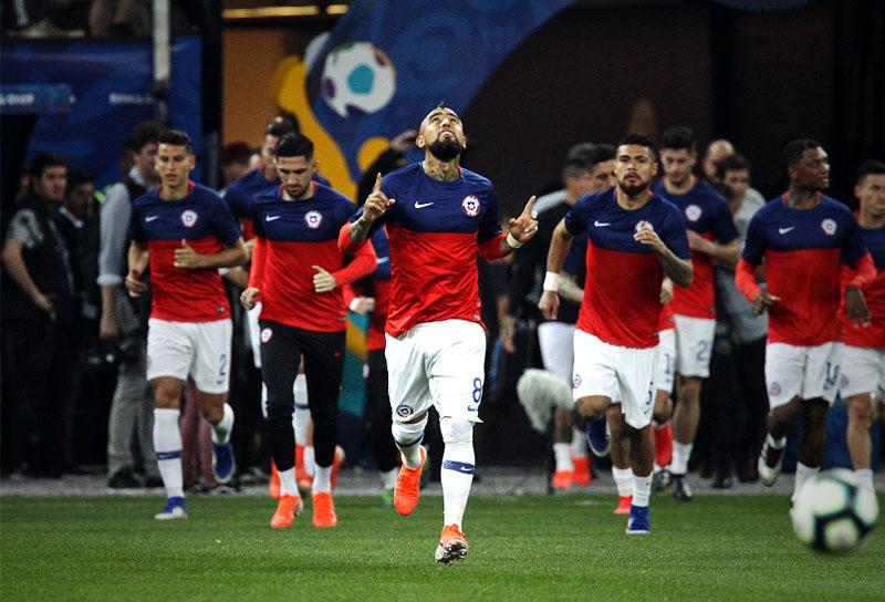 Arturo Vidal Selección de Chile Copa América 2019