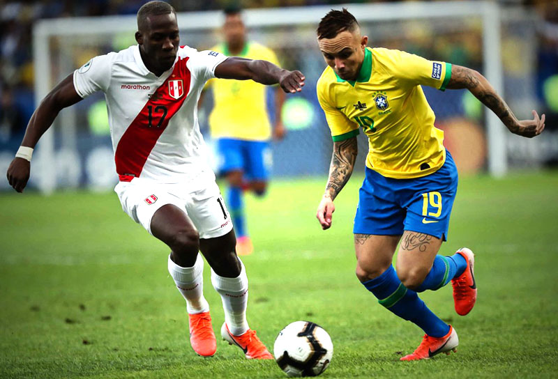 Brasil 2–1 Perú Copa América 2019