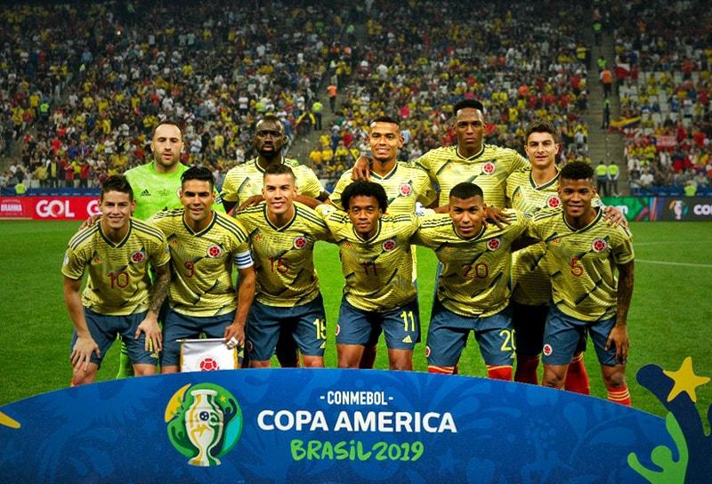 Copa América Brasil 2019 Selección Colombia