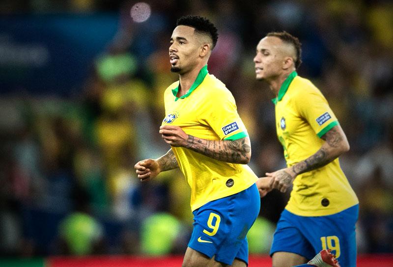 Gabriel Jesus Selección de Brasil campeón Copa América 2019