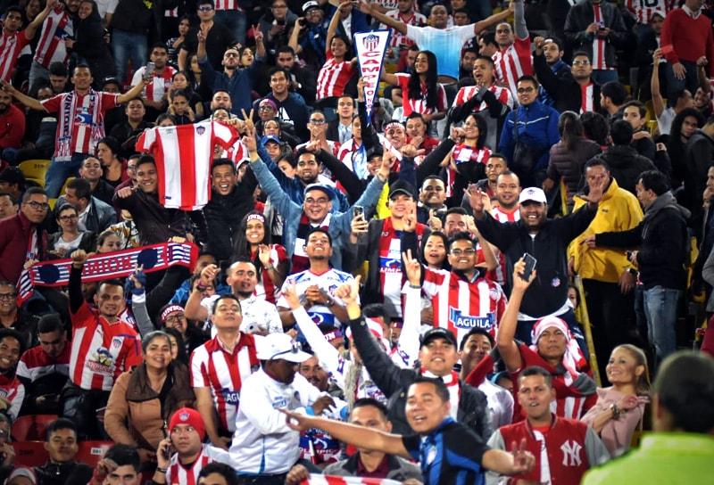 Hinchada Junior FC final Liga Águila 2019-I