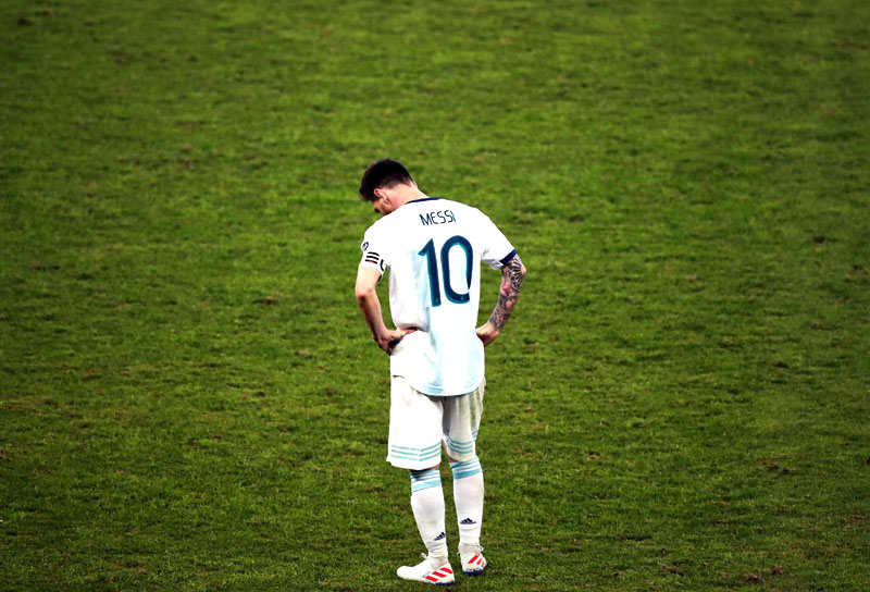 Lionel Messi Brasil 2-0 Argentina Copa América 2019