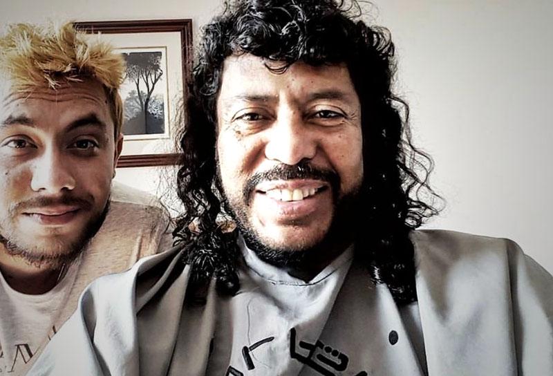 René Higuita peluquero - ViralGol