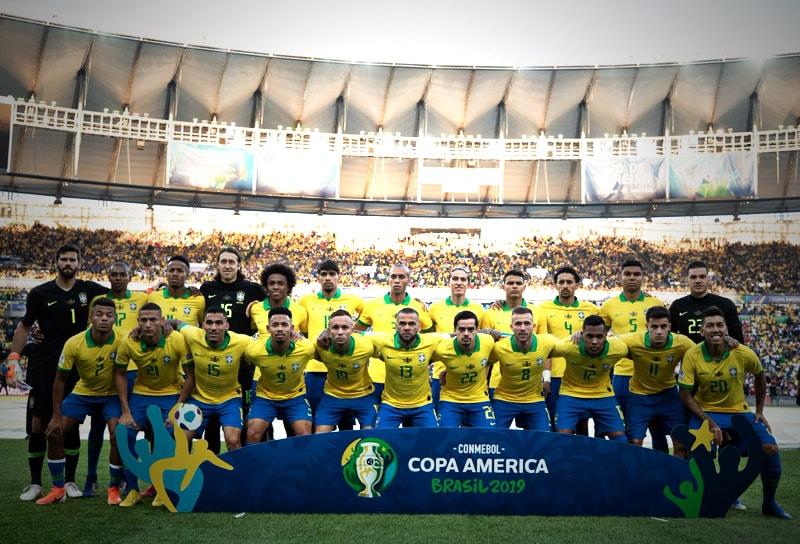 Selección de Brasil campeón Copa América 2019