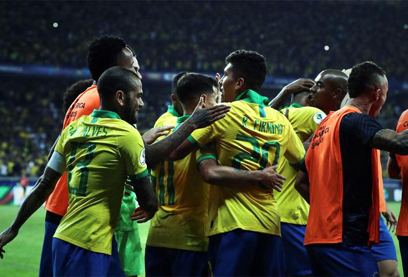 Selección de Brasil, finalista Copa América 2019