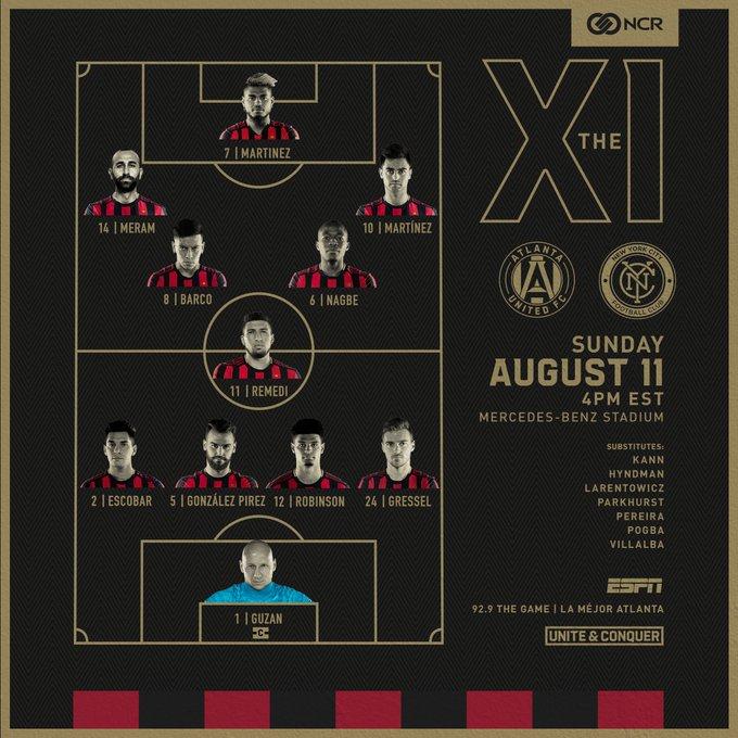El venezolano Josef Martínez empata dos marcas de goleo en la MLS