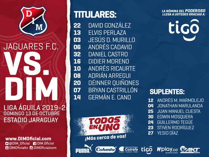 EN VIVO – Jaguares vs Medellín online por la Liga Águila 1