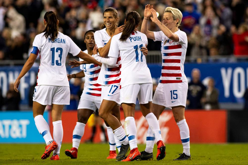 Estados Unidos 6 vs 0 Costa Rica - Amistoso Internacional ...