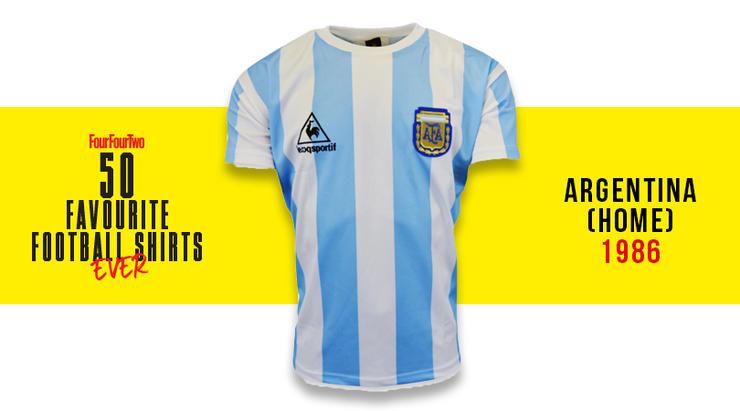 Camiseta de Colombia en 1990, entre las 50 mejores de la historia 27