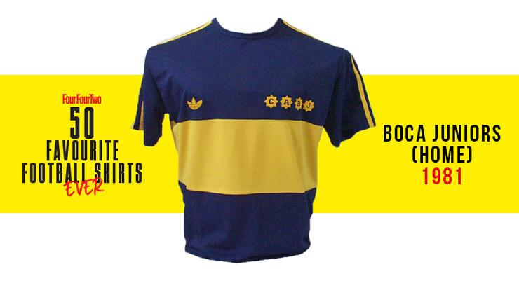 Camiseta de Colombia en 1990, entre las 50 mejores de la historia 50