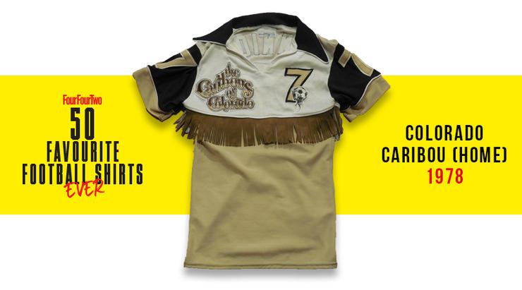 Camiseta de Colombia en 1990, entre las 50 mejores de la historia 11