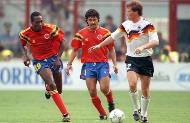 Camiseta de Colombia en 1990, entre las 50 mejores de la historia 1