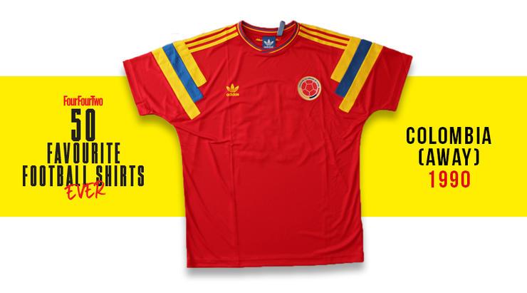 Camiseta de Colombia en 1990, entre las 50 mejores de la historia 36