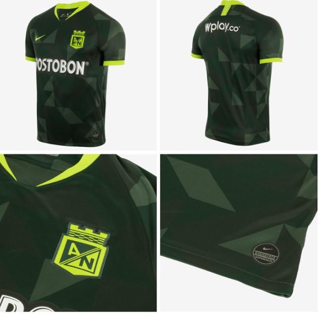 Filtran fotos de la camiseta visitante Nike 2020 de Atlético Nacional 1