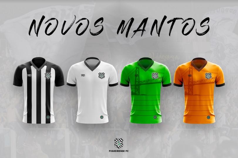 Con la ayuda de sus hinchas, Figueirense diseñó sus uniformes para el 2020 1