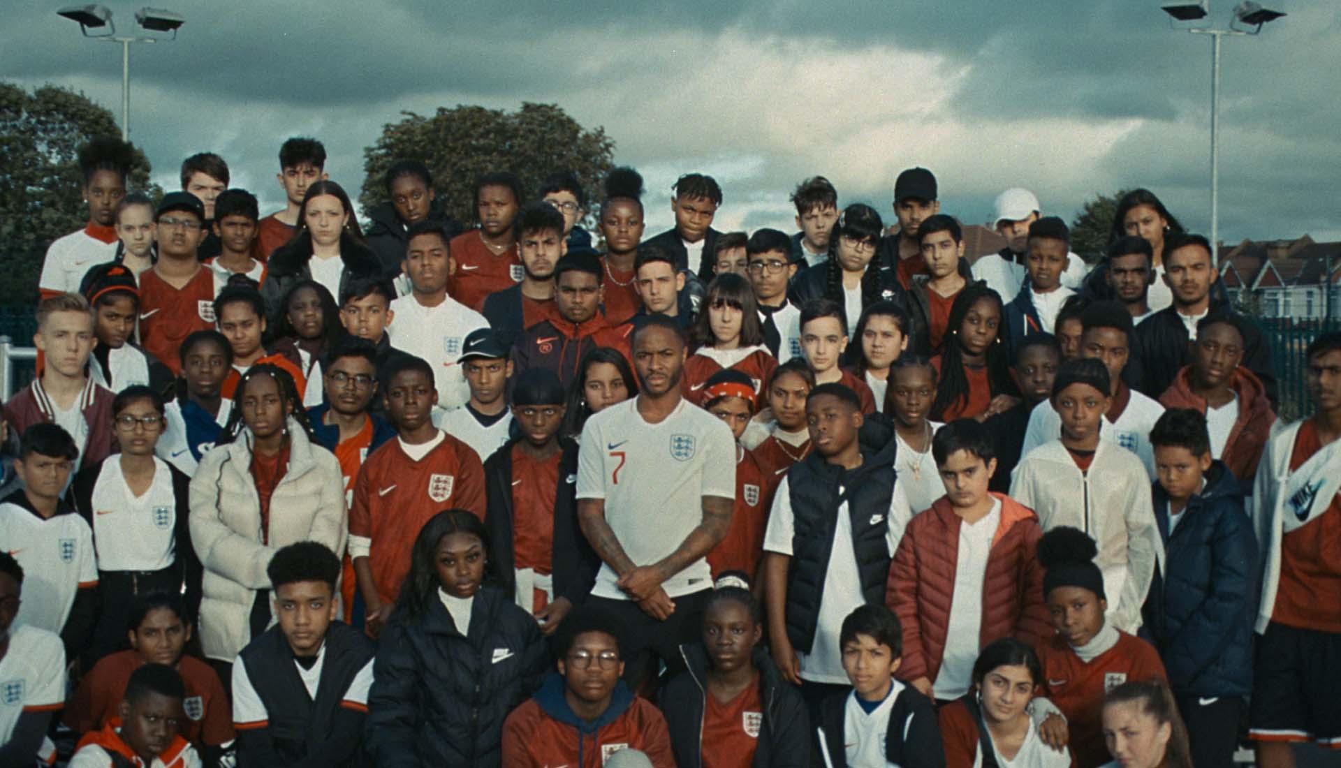Nike recuerda los orígenes de Raheem Sterling en Londres 1