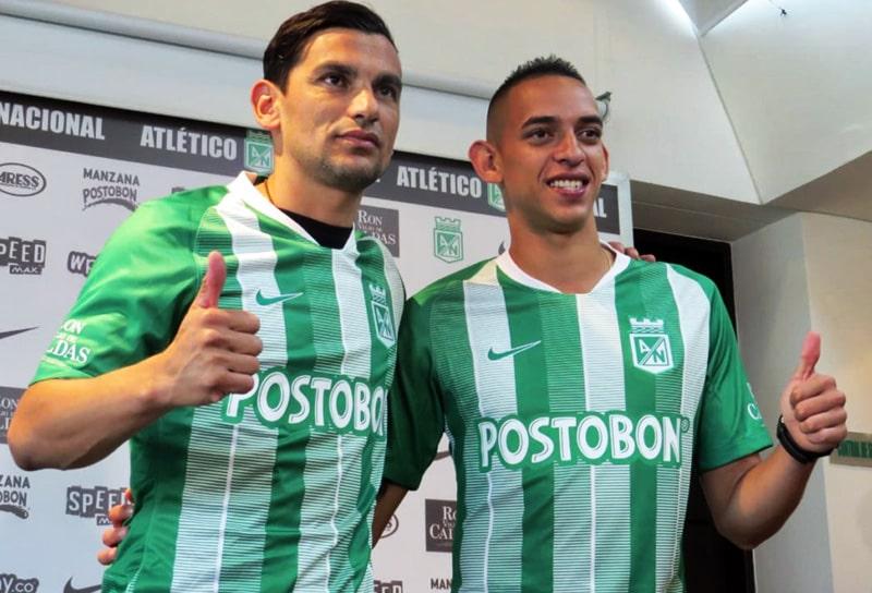 Alberto 'Tino' Costa, Neyder Moreno, Atlético Nacional