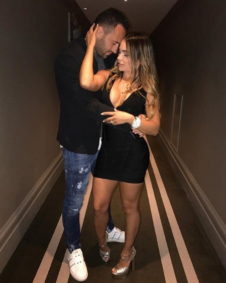 Jessica Sterling y David Ospina