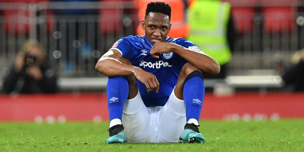 Everton 1 – 1 Manchester United: ¿Qué pasó con Yerry Mina? | Futbolete.com