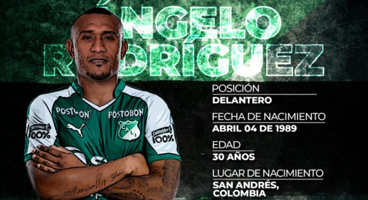 Ángelo Rodríguez firmó con Deportivo Cali 1