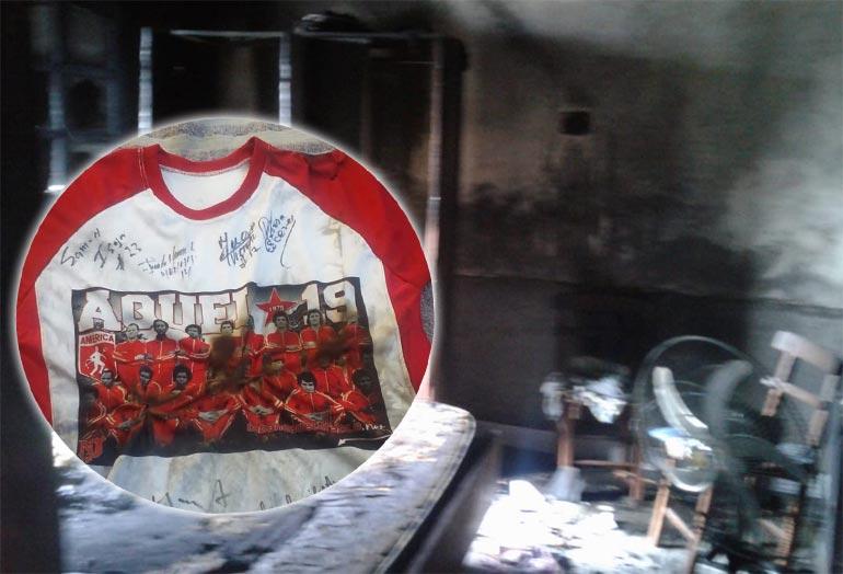 El ídolo de América de Cali que sufrió el incendio de su casa | Futbolete.com