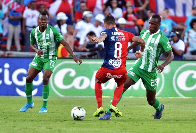 Adrián Arregui, DIM 1 - 4 Atlético Nacional, Liga Águila 2019-II