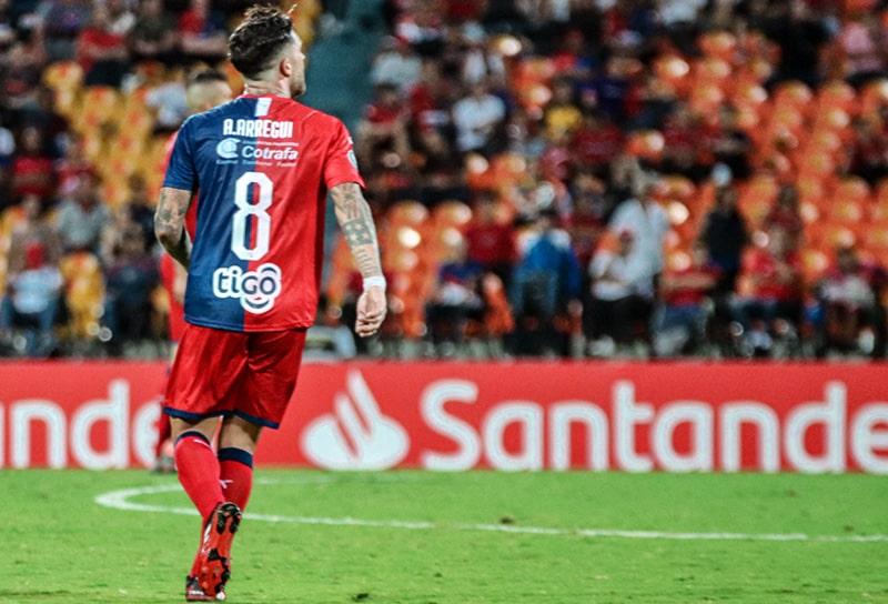 Adrián Arregui, Medellín 4 - 0 Táchira, Copa Libertadores 2020
